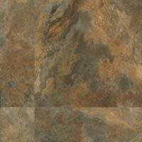 Armstrong LUXE Plank with FasTak Install Lexington Slate - Multi-color Luxury Vinyl Tile