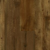 Armstrong LUXE with Rigid Core Farmhouse Plank - Rugged Brown Luxury Vinyl Tile