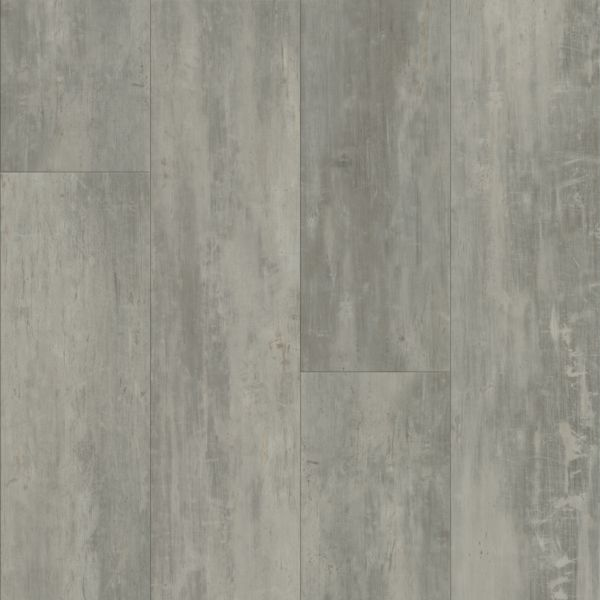 Armstrong LUXE Plank with FasTak Install Concrete Structures - Soho Gray Luxury Vinyl Tile