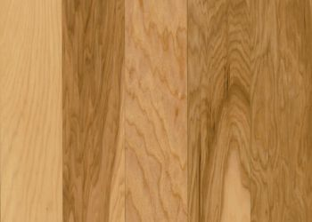 Hickory Solid Hardwood - Country Natural