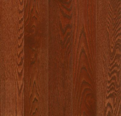 Amazing Red Oak Solid Hardwood   Berry Stained