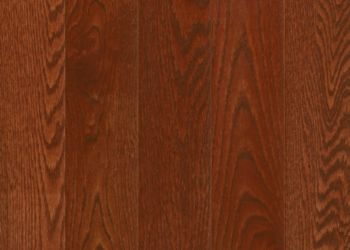 Red Oak Solid Hardwood - Berry Stained