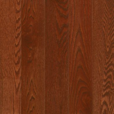red oak solid hardwood berry stained