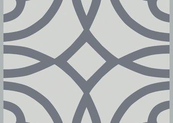 装饰乙烯基瓦-灰色圆圈