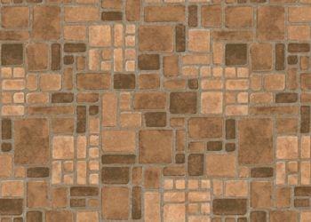 Heritage Brick Lámina de vinil - Camel