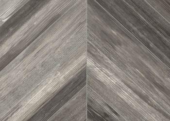 Chevron Forest Feuille de vinyle - Wolfe Gray
