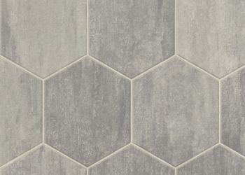 Stone Hex Vinyl Sheet - Meadow Mist