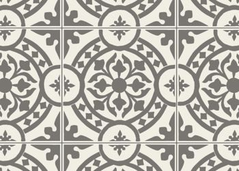 Tuscany Feuille de vinyle - Charcoal