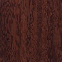 Armstrong Beckford Plank Oak - Cherry Spice Hardwood Flooring - 3/8