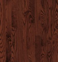 Armstrong Yorkshire Strip White Oak - Cherry Spice Hardwood Flooring - 3/4