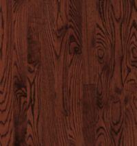 Armstrong Yorkshire Strip White Oak - Cherry Spice Hardwood Flooring - 3/4