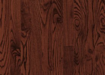 White Oak Solid Hardwood - Cherry Spice