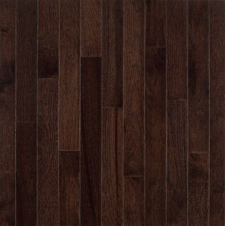 Hickory Hardwood Flooring Dark Brown C0789 By Bruce