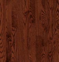 Armstrong Manchester Strip & Plank Red Oak - Cherry Hardwood Flooring - 3/4