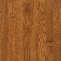 Armstrong Waltham Plank White Oak - Brass Hardwood Flooring - 3/4