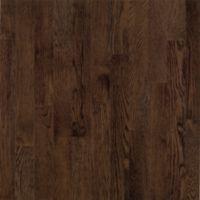 Armstrong Dundee Plank Red Oak - Mocha Hardwood Flooring - 3/4