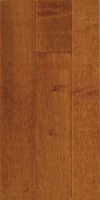Armstrong Kennedale Prestige Plank Maple - Cinnamon Hardwood Flooring - 3/4
