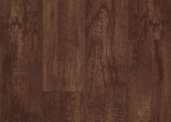 Hickory Vinyl Tile - Rustic Brown