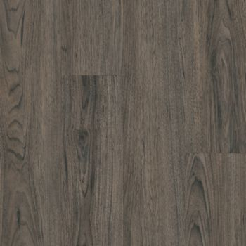 Walnut Vinyl Tile - Charcoal