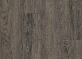 Walnut Vinyl Tile - Charcoal