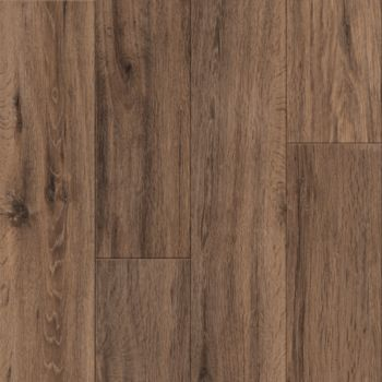 Brushed Oak Vinyl Tile - Caramel