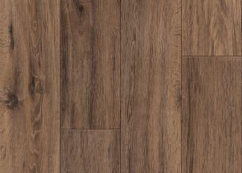 Brushed Oak Vinyl Tile - Caramel