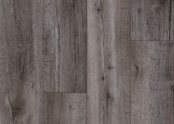 Thorndale Oak Vinyl Tile - Cinder Gray