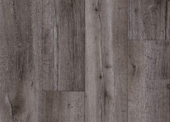 Thorndale Oak Vinyl Tile - Cinder Gray