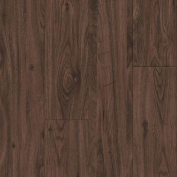 Aged Walnut Vinyl Tile - Sepia