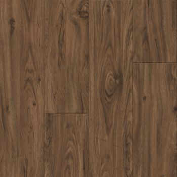 Medium Walnut Vinyl Tile - Brown