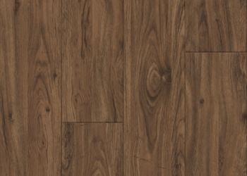 Medium Walnut Baldosa de vinil - Brown