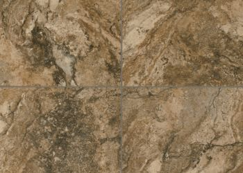 Royal Travertine Engineered Tile - Sepia Brown
