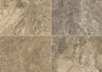 Classico Travertine Engineered Tile - Sandstone/Blue
