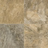 Armstrong Alterna Reserve Classico Travertine - Cameo Brown/Gray Luxury Vinyl Tile