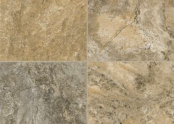 Classico Travertine Engineered Tile - Cameo Brown/Gray