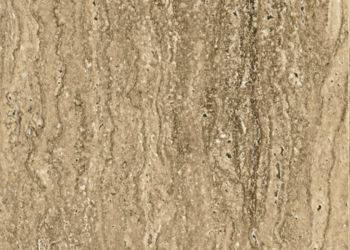 Navona Travertine Engineered Tile - Toasted Wheat