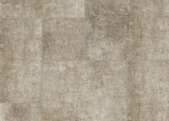 Distressed Concrete Engineered Tile - Gray