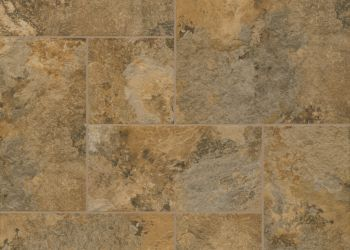 Huntington Slate Engineered Tile - Brown Clay