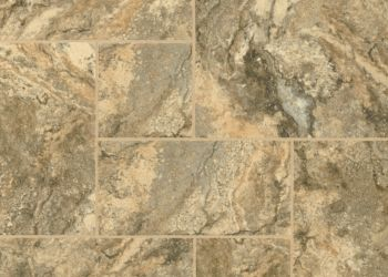 Genova Travertine Engineered Tile - Burnished Gold