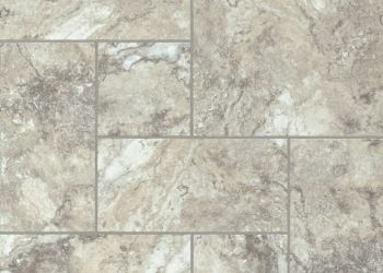 Taranto Travertine Engineered Tile - Silver Charm
