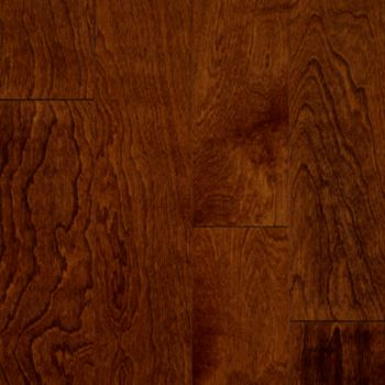 Yellow Birch - Glazed Rust Red Hardwood E5317