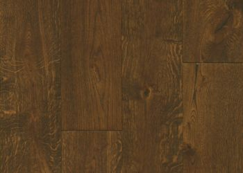 White Oak Engineered Hardwood - Deep Etched Hampton Brown