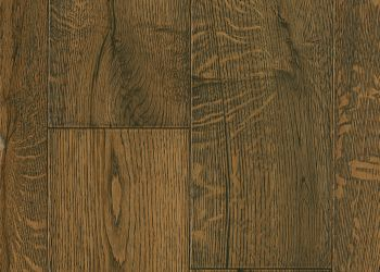 White Oak Engineered Hardwood - Deep Etched Blackened Earth