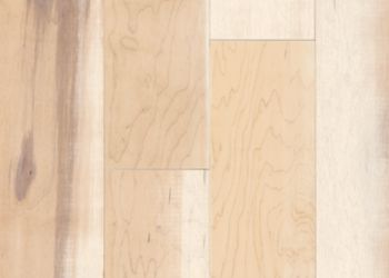 Maple Engineered Hardwood - Surface Effect White