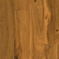 Armstrong American Scrape Hardwood Hickory - Amber Grain Hardwood Flooring - 3/8