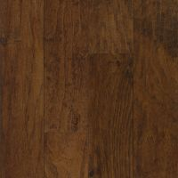 Armstrong American Scrape Hardwood Hickory - Wilderness Brown Hardwood Flooring - 3/8