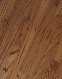 Armstrong Springdale Plank Oak - Mellow Brown Hardwood Flooring - 3/8