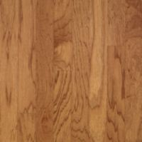 Armstrong Turlington Lock&Fold Hickory - Golden Spice/Smokey Topaz Hardwood Flooring - 3/8