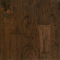 Armstrong Artesian Hand-Tooled Hickory - Barrel Brown Hardwood Flooring - 1/2