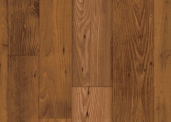 Woodcrest Vinyl Sheet - Dark Natural